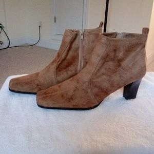 Shoes - Women Suede  Ankle Boots
